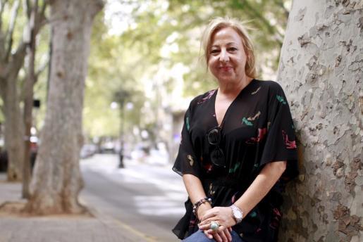 Carmen Machi en Palma.