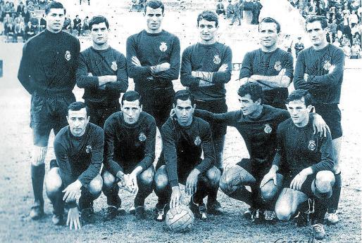 Formación del Real Mallorca en la temporada 1964/65.