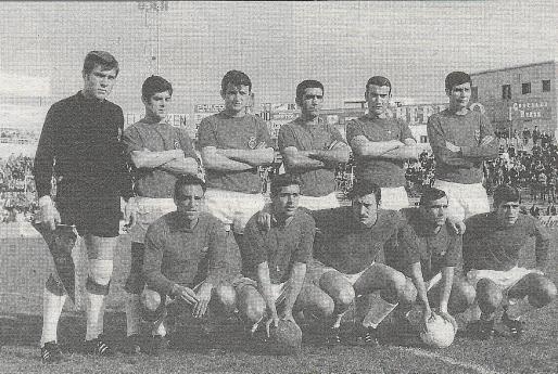 Formación del Real Mallorca de la temporada 1968/69.