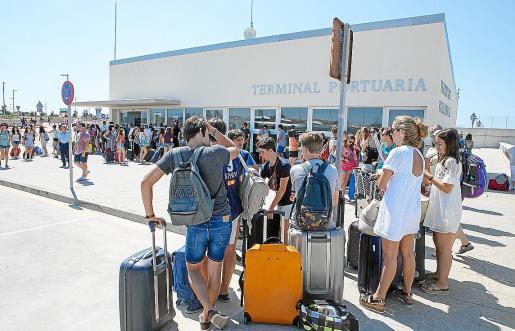La mayoría de los desplazamientos será por barco en la ruta Alcúdia-Ciutadella.