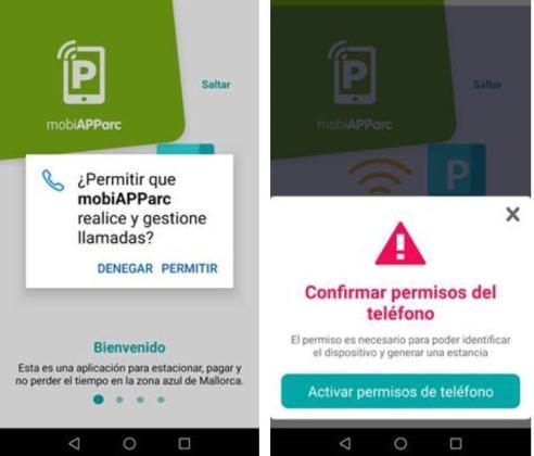 La asociación de consumidores alerta sobre la nueva aplicación de la ORA de Palma.