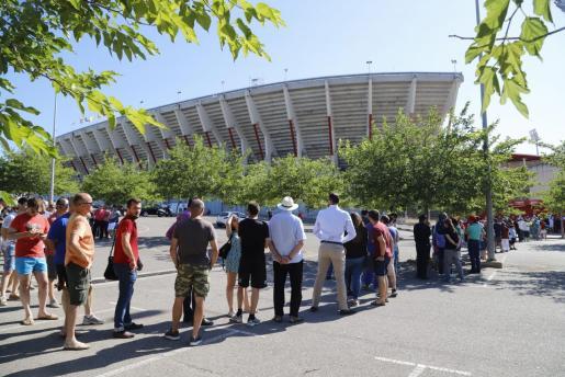Las entradas para el Mallorca-Deportivo se han agotado este jueves a las pocas horas.