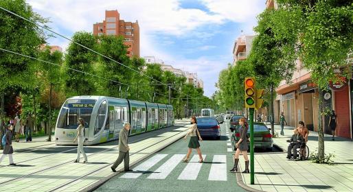 El Pacte recupera una propuesta de tranvía hasta el aeropuerto, como la que ya presentó hace doce años.