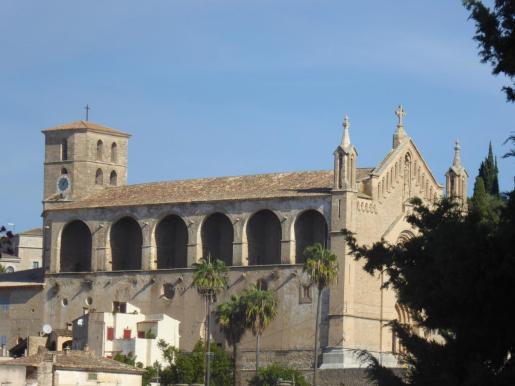 Vista general de la parroquia de Artà.