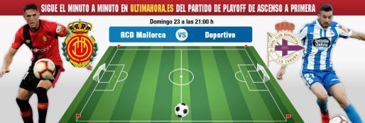 Real Mallorca-Deportivo, en directo