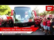 Llegada del Real Mallorca a Son Moix