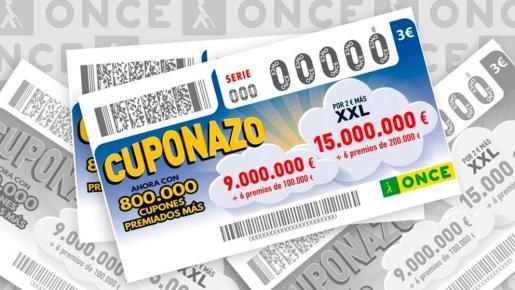 La ONCE ha repartido 875.000 euros en Palma.
