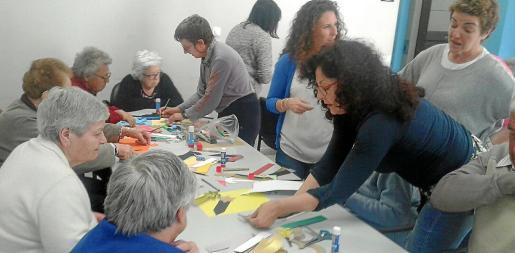 El centro de día de Algaida organizó en 2016 un taller para las personas mayores dedicado a la figura de Ramon Llull.