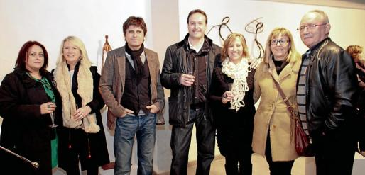 MªJosé Aguiló, Lita Gelabert, Ramón Díaz, Toni Gómez, Marilena Marquès, Antònia Artigues y Bep Carreras.