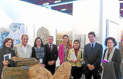 Catalina Sureda, Pedro Txillida, Gema Lazcano, Joan Rotger, Elvira Cámara, Fernando Gilet y Pilar Ribal.