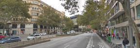 Las obras obligan a restringir la circulación en la avenida Alexandre Rosselló
