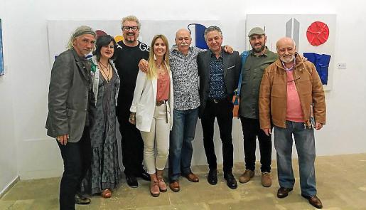 Roman Hilmann, Inés Terry, Jaime Roig de Diego, Irene Navarro, Vicenç Palmer, Xisco Barceló, Carlos Terroba y Miguel Reche.