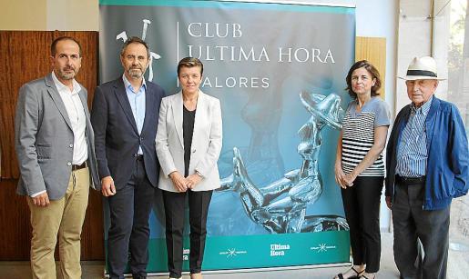 Antonio Fernández-Coca, Ricardo Martino, Carmen Serra, Paula Serra y Alfonso Ballesteros.