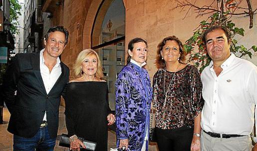 Miguel Miró, Isabel Izquierdo, Cristina Macaya, Cristina Planas y Fernando Robledo.