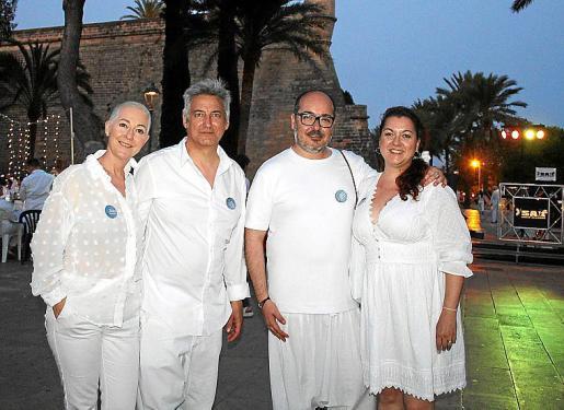 Marga Coll, Alejandro Maciá, Dani Arjona y Xisca Sureda.