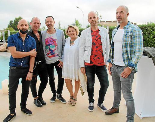 Marcelo Bolzorotti, Fernando Paladino, Miguel Oliveros, Inés Redivo, Juan Antonio Mesquida y Rafa Escalante.