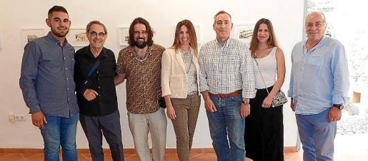 Joan Janer, Gabriel Janer, Llorenç Garrit, Carolina Vicens, Carlos Simarro, Mia Ensenyat y José Sureda.