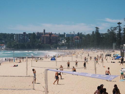 Imagen de archivo de una playa australiana.