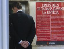 URDANGARIN REGRESA A LOS JUZGADOS DE PALMA TRAS UN RECESO PARA COMER