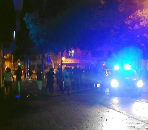 Los hechos ocurrieron en la plaza Pere Garau, de Palma.