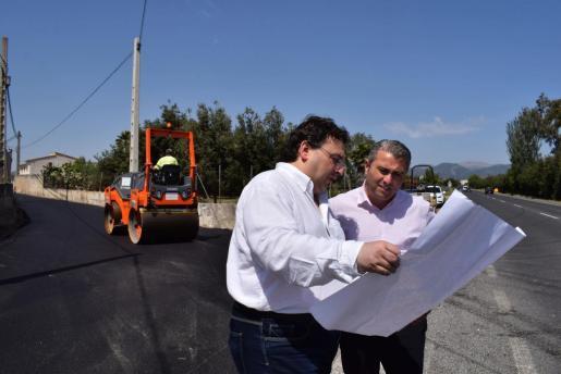 Inca invierte 99.000 euros en asfaltar caminos rurales del municipio.