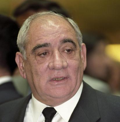 Fotografía de archivo del 25 de marzo de 1998 del presidente de El Corte Inglés, Isidoro Álvarez, que falleció en 2014.