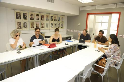 PSOE y Unidas Podemos se han reunido este miércoles de nuevo para negociar el futuro gobierno del Consell de Menorca