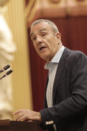 Intervención del portavoz de Podemos en el debate de investidura de Armengol.