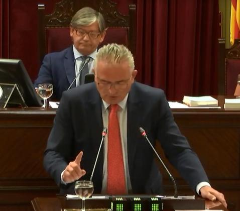 Jaume Font durante su intervención.