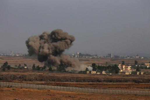 Imagen de archivo del conflicto armado sirio.