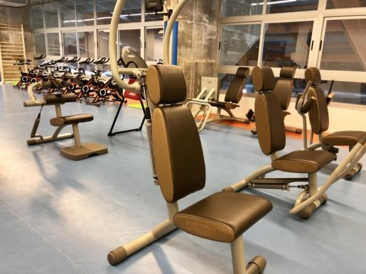 El incremento de abonados ha provocado la ampliación de las instalaciones deportivas de Son Moix.