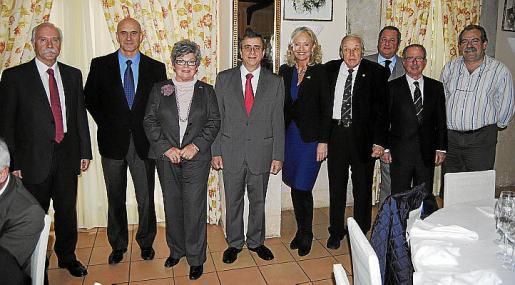 Santiago Mallón, Antonio Ortiz, Dorte Kring, Bartomeu Campaner, Amy Christiansen, Tumy Bestard, Jaime Ramón, Juan González y Jesús Aparicio.