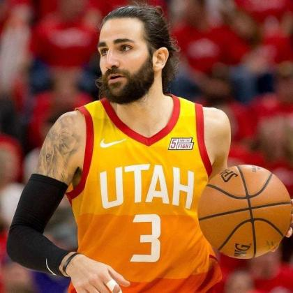 Ricky Rubio, en su etapa en los Utah Jazz.