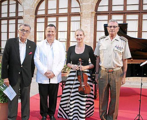 Javier Cortés, Andreu Riera, Nina Heidenreich y José Hidalgo.
