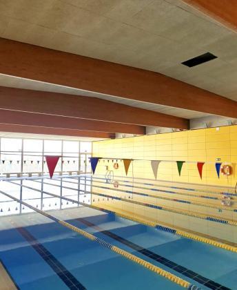 Imagen del desprendimiento en la piscina de Son Roca.