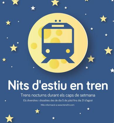 SFM ofrecerá 12 trenes nocturnos cada viernes y sábado de julio y agosto.