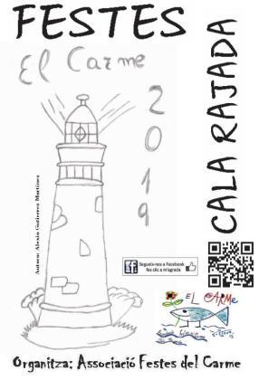 La autora del cartel de esta edición de las Festes del Carme es Alexia Gutiérrez Martínez.