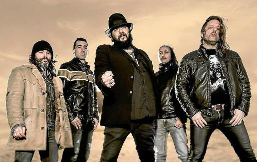El conjunto Marea, en una imagen promocional de su último disco.