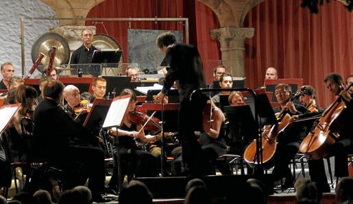 Uno de los conciertos del Festival de Pollença de una edición anterior, cita musical que este año corre peligro.
