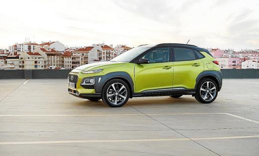 El Kona, una de las claves del éxito de Hyundai que en Mallorca comercializa Proa Automoción.