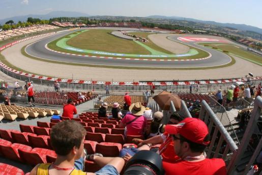 Imagen de uno de los sectores del Circuit de Barcelona-Catalunya.