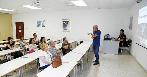 Macià Ensenyat, durante uno de los cursos de formación celebrado recientemente.