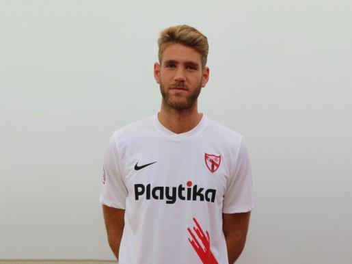 José Carlos Caballero 'Checa', nuevo central del Atlético Baleares.