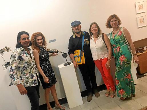 Jairo La Creación, Araceli Déniz, Carlos Terroba, Verónica Sabattini y Vicky Pérez.