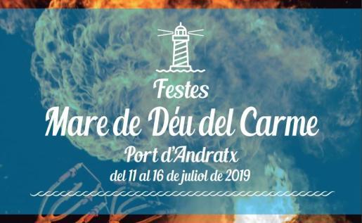 Fiestas de Mare de Déu del Carme 2019 en el Port d'Andratx.