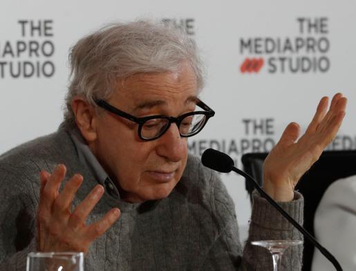 El director neoyorquino, Woody Allen.