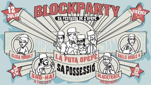 Block Party celebrada en Sa Possessió