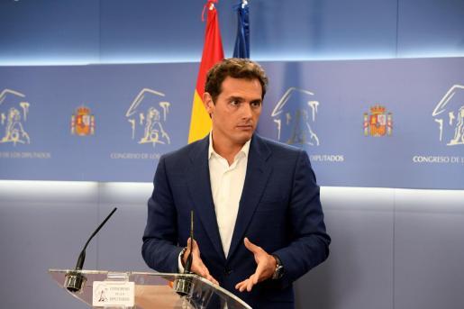 El presidente del Ciudadanos, Albert Rivera.