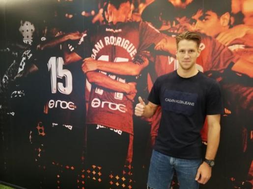 Imagen del nuevo jugador del Real Mallorca Josep Señé.