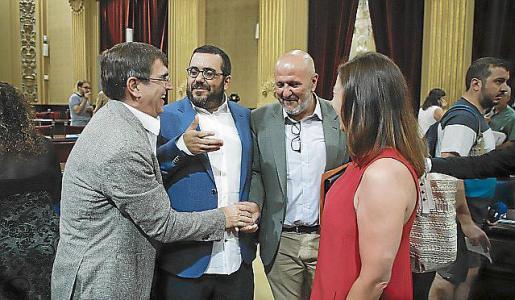 Antich, Vidal, Enseyat y Armengol, este jueves.